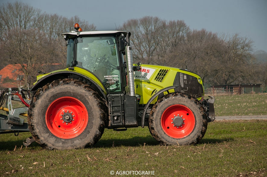 Claas Axion 850 & 810 + Joskin Cargo 26000 (ketsplaat, 12-03-2016, Haveneers) (37 van 46)