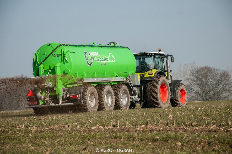 Claas Axion 850 & 810 + Joskin Cargo 26000 (ketsplaat, 12-03-2016, Haveneers) (44 van 46)