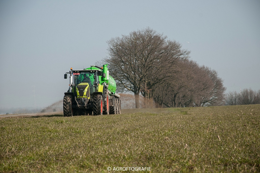 Claas Axion 850 & 810 + Joskin Cargo 26000 (ketsplaat, 12-03-2016, Haveneers) (8 van 46)