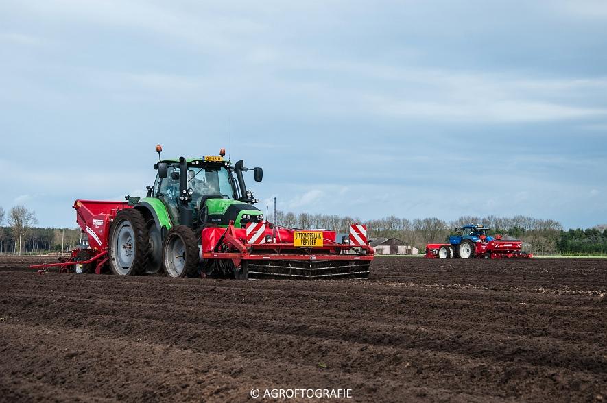 Deutz-Fahr Agrotron 6180 TTV & New Holland T7030 + Grimme GL (Van Gompel-Van Sambeeck, 04-04-2016) (7 van 54)