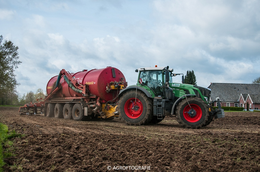 Fendt 933 & 924 + Schuitemaker Robusta & Fendt 930 + Lemken (Van Hal, 25-04-2016) (45 van 86)