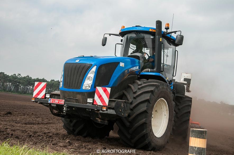 New Holland T9560 + Kuhn Performer 5000 (Cultiveren, Franken Agro, 16-07-2016) (51 van 74)jpg